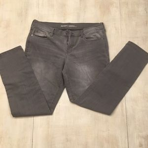 Old Navy Original Mid Rise Jeans Gray size 10 R